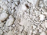 Pekmeze katılan marn toprağı