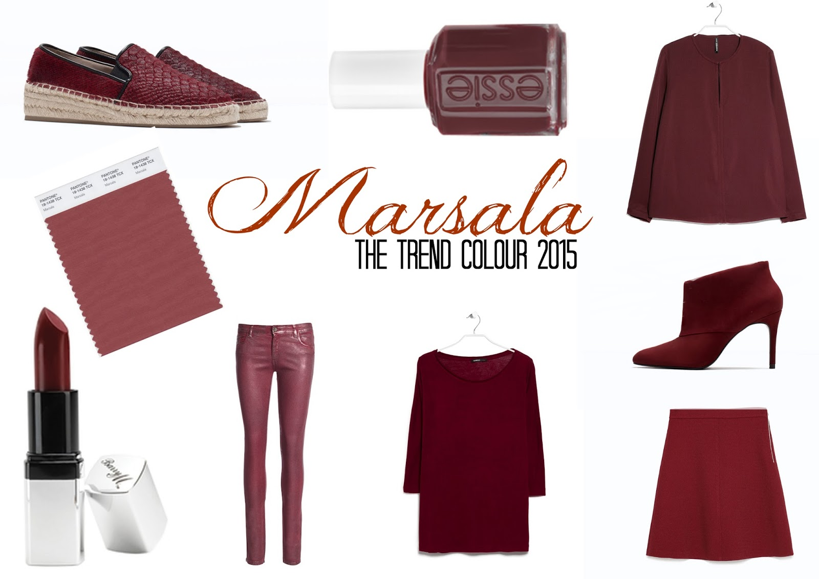 TheBlondeLion Marsala Shopping Picks
