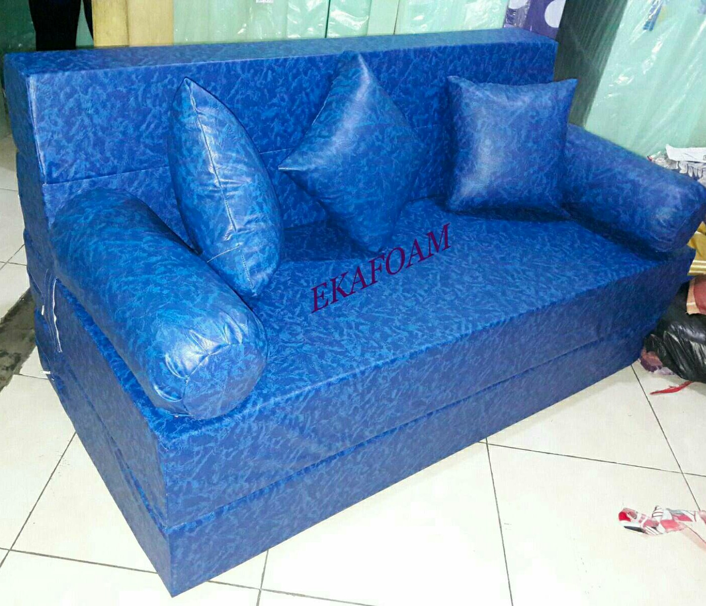 Harga Sofa Bed Inoac No 1 Reclining With Nailhead Trim Kasur Busa Terbaru 2018 Agen Resmi