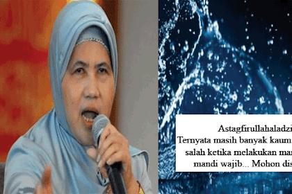 Astagfirullahaladzim, ternyata masih banyak kaum wanita yang salah ketika melakukan mandi Junub / Mandi wajib.. inilah tata cara yang benar menurut islam.. mohon disebarkan !!
