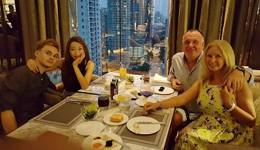 A fabulous weekend in KL with James and Sujeong Horton!