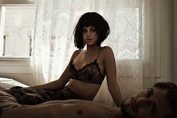 Selena Gomez on the pages of Flaunt Magazine