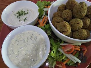 Falafell Vegan Food