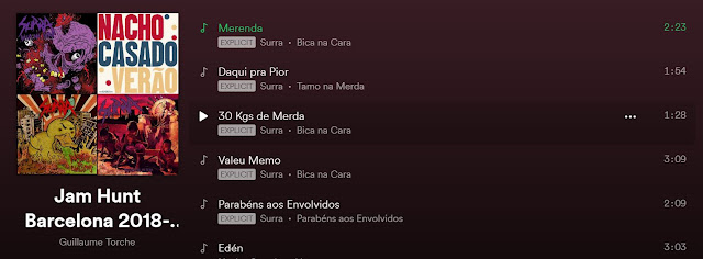 Playlist Jam Hunt en Spotify