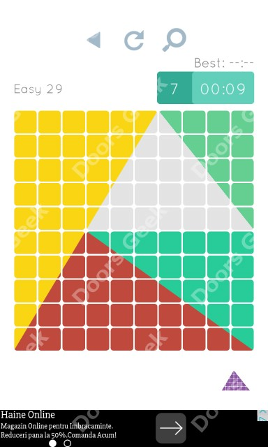 Cheats, Walkthrough for Blocks and Shapes Level 29