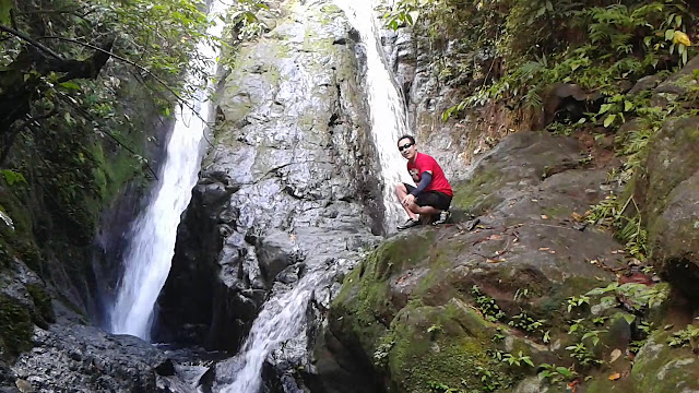 Cliff Jumping at Busay Falls