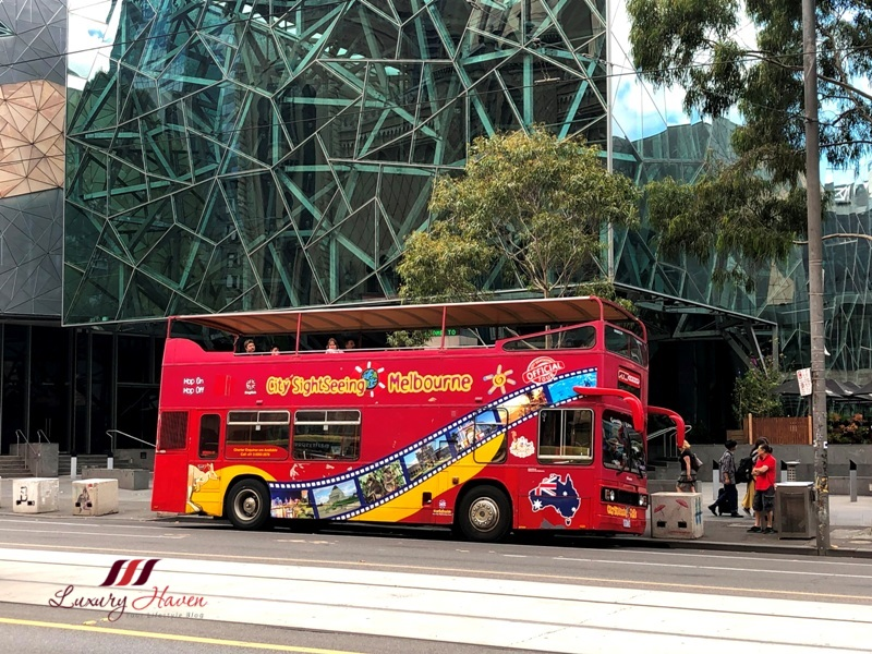 klook melbourne hop on hop off sightseeing-bus