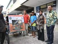 Tukang Becak di Sumut pun Ikut Sosialisasikan MTQ ke 27 Medan