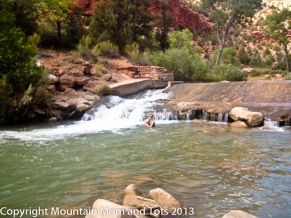 Virgin River Swimming Hole, Zion National Park, Utah - Mountain Mom