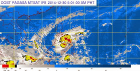 'Bagyong Seniang' PAGASA weather update (December 30, 2014)