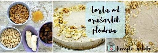 sirova torta od banana i orasa