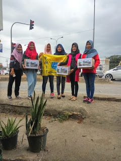 IMG 20171030 WA0001 - Peduli banjir dan tanah longsor, PMII Gelar Bakti Sosial