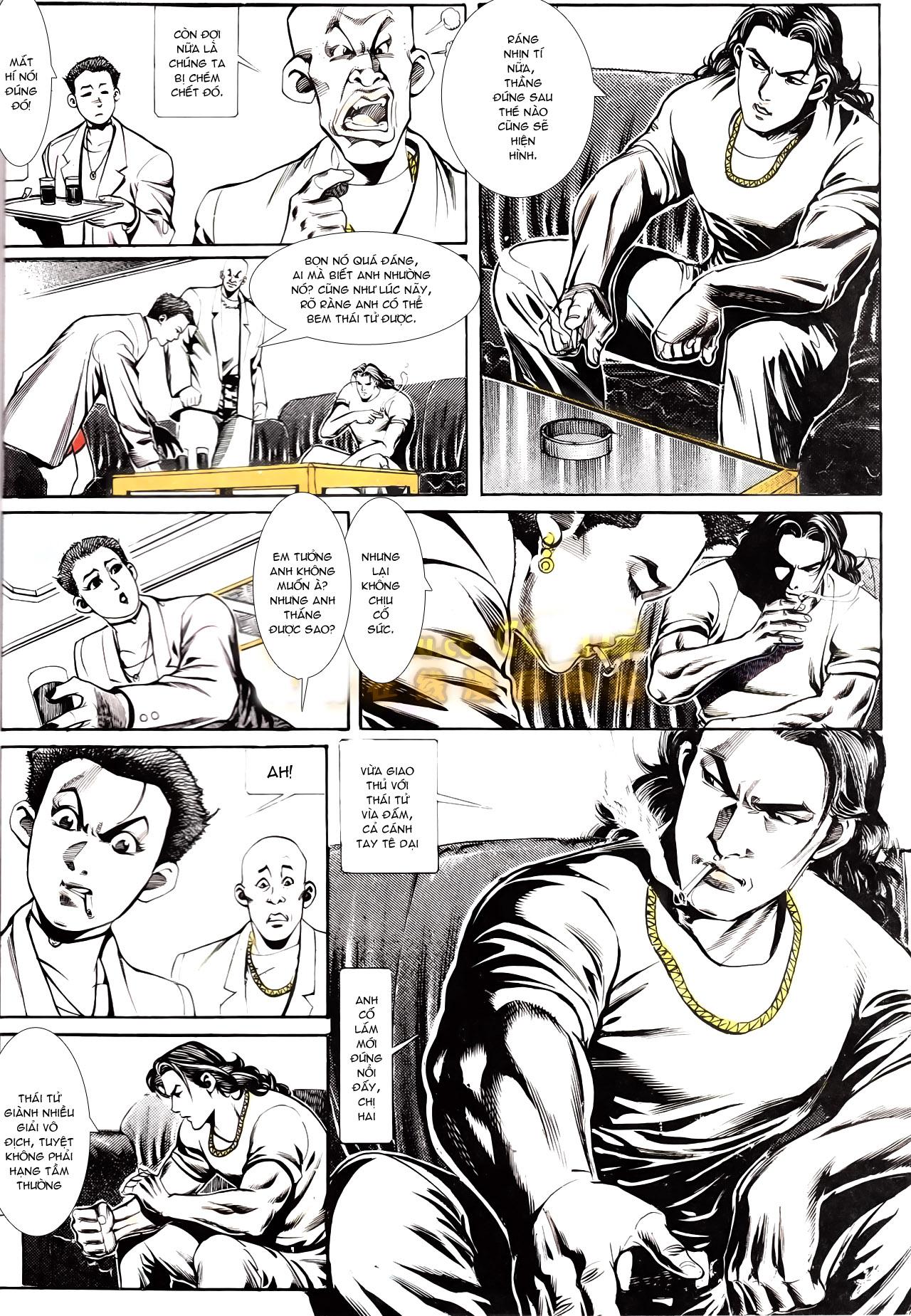 Người Trong Giang Hồ chapter 164: hạo nam chiến quạ đen trang 14