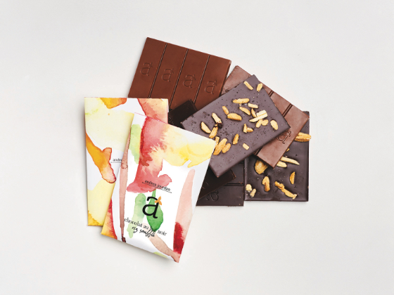 Watercolor Chocolate On Packaging Of The World Creative Package