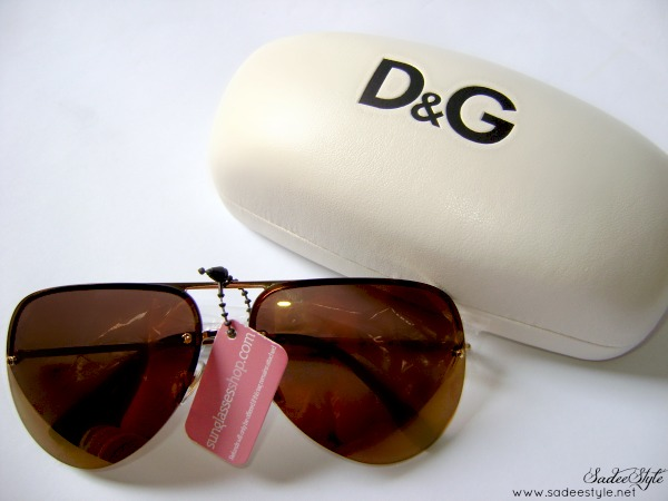 Dolce & Gabana Sunglasses 6068 Gold 02/F9