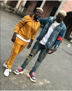 Zlatan Ibile and Girlfriend