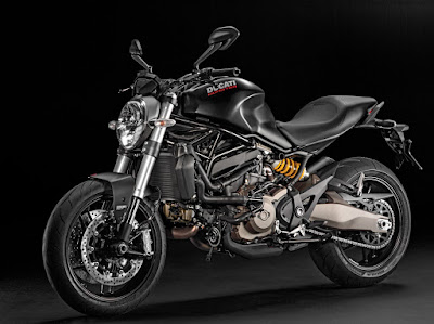All New Ducati Monster 821 Black HD Images