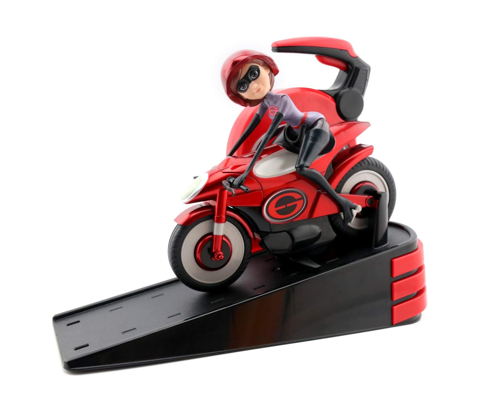 Incredibles 2 Jakks Toys Streching & Speeding Elasticycle Review