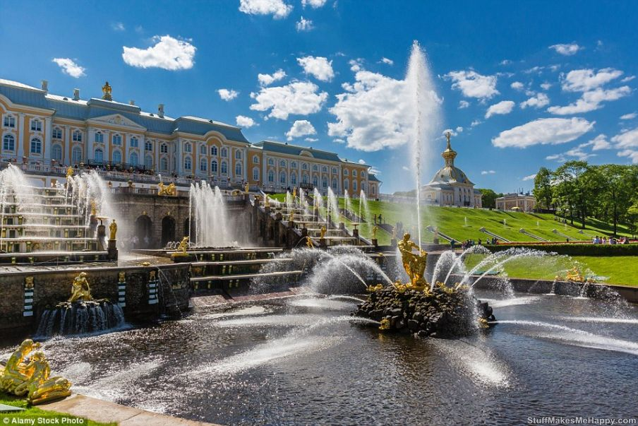 1. Palace & Park Ensemble, Peterhof - Russia