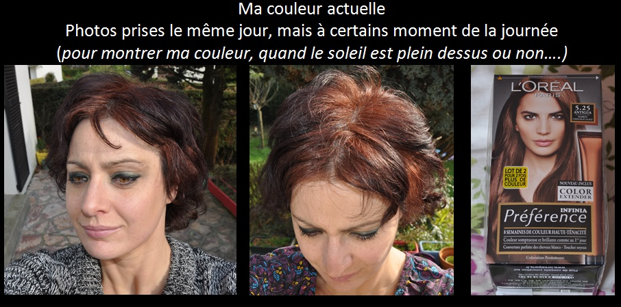 Cheveux brun fonce orthographe