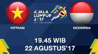 Prediksi Timnas Indonesia vs Vietnam - Sepakbola SEA Games Selasa 22/8/2017