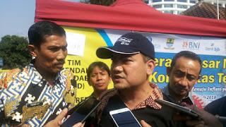 TPID dan KpBank Indonesia Cirebon Gelar Pasar Murah Dan Warga Antusias