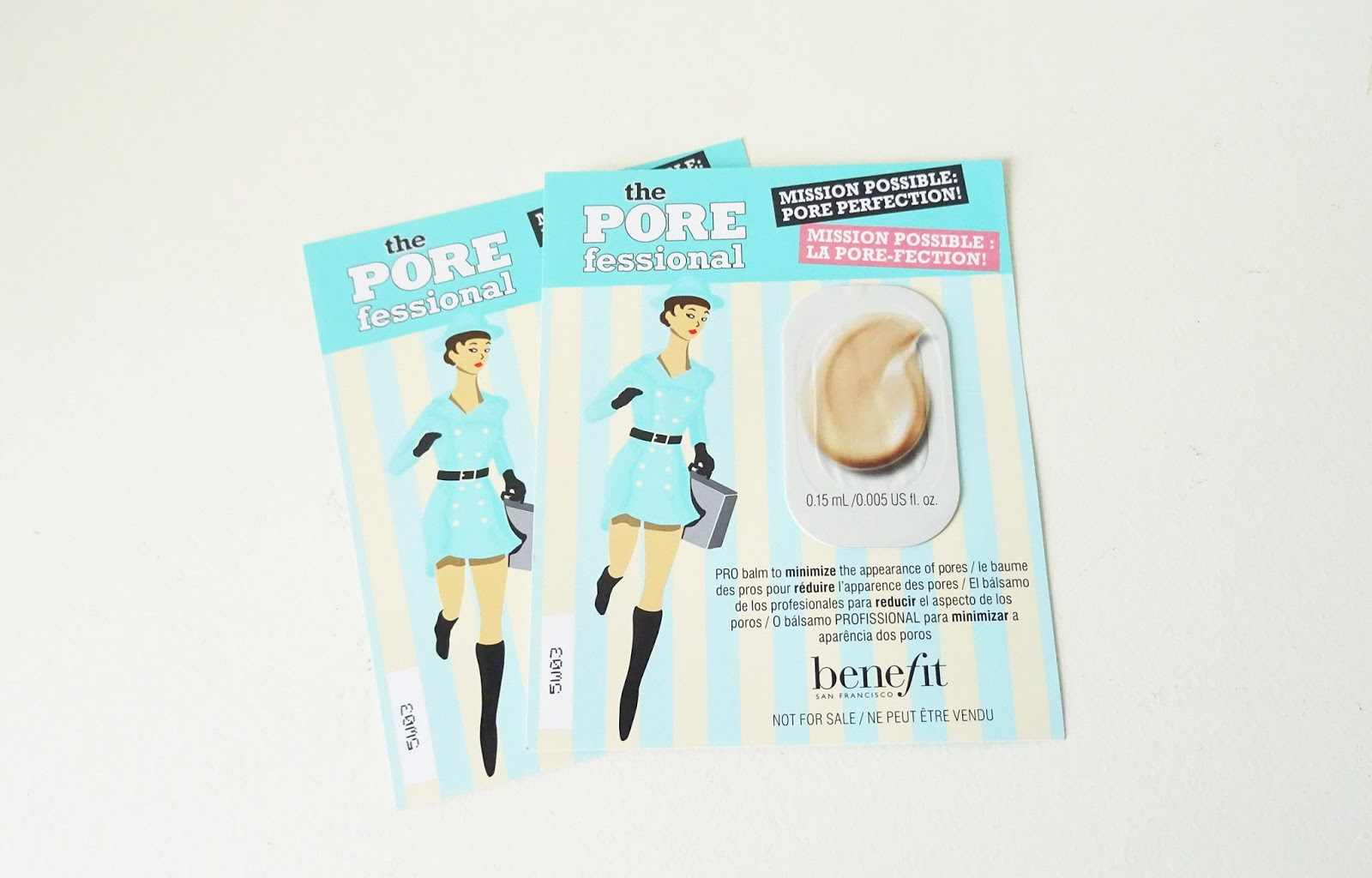 La base POREfessional Benefit