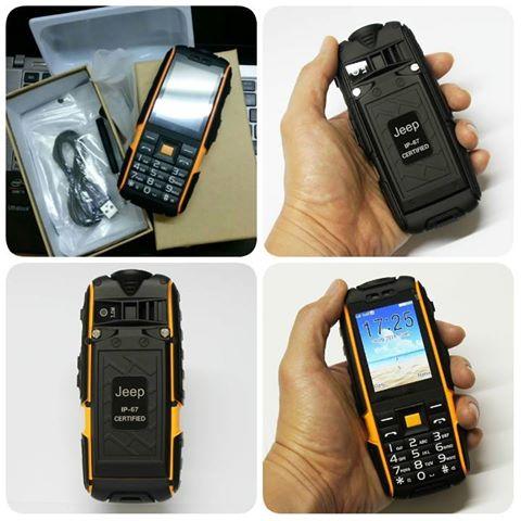 HANDPHONE OUTDOR JEEP X6000 BISA JADI POWER BANK HARGA Rp.1.600.000 dc90539691