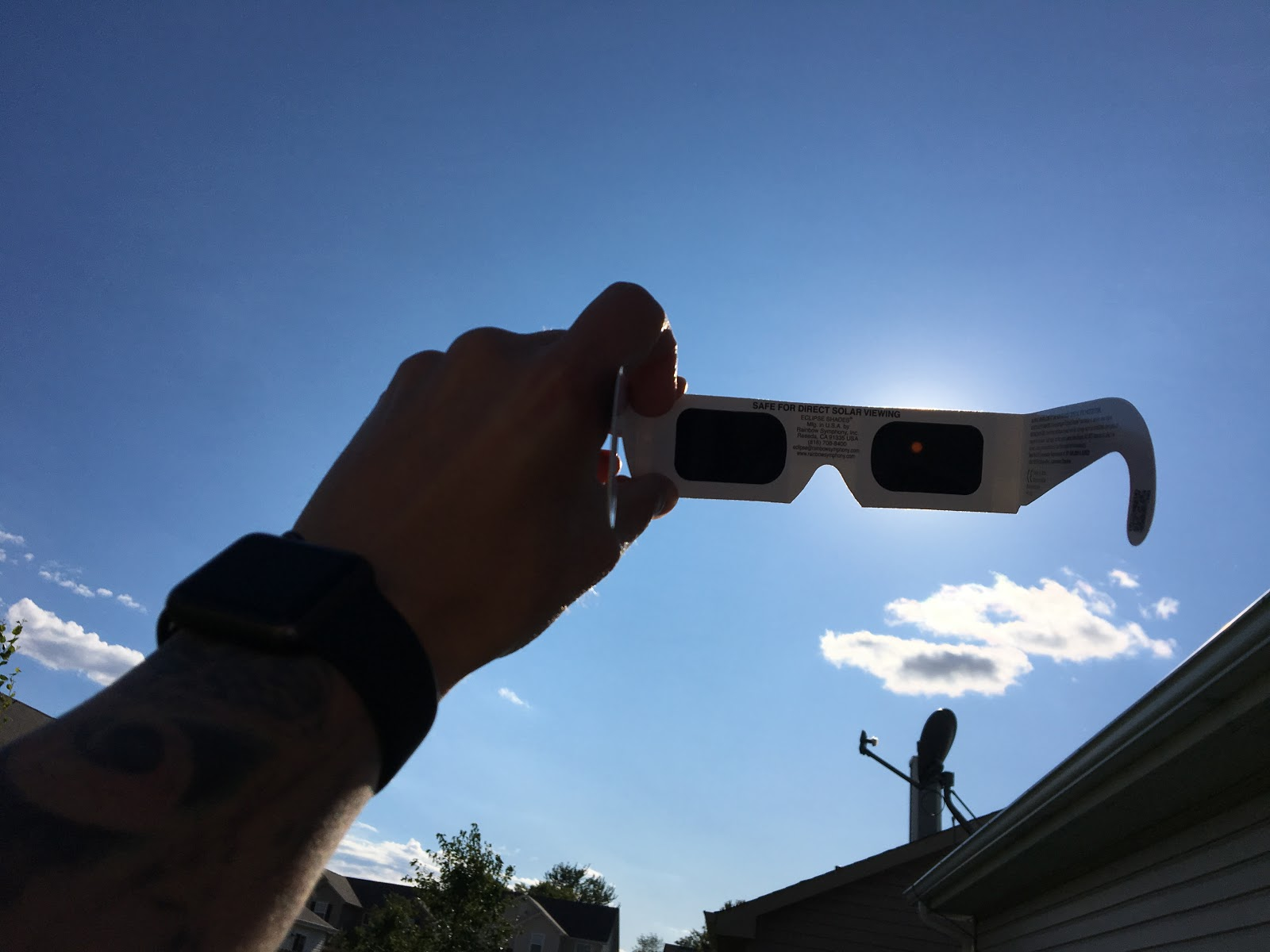 Do Solar Eclipse Glasses Fit and Work Over Regular Glasses ...