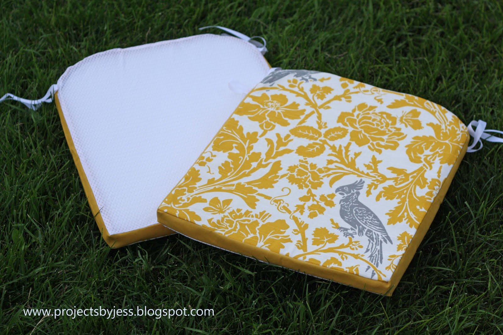 Running With Scissors Tutorial Outdoor Patio Seat Cushions