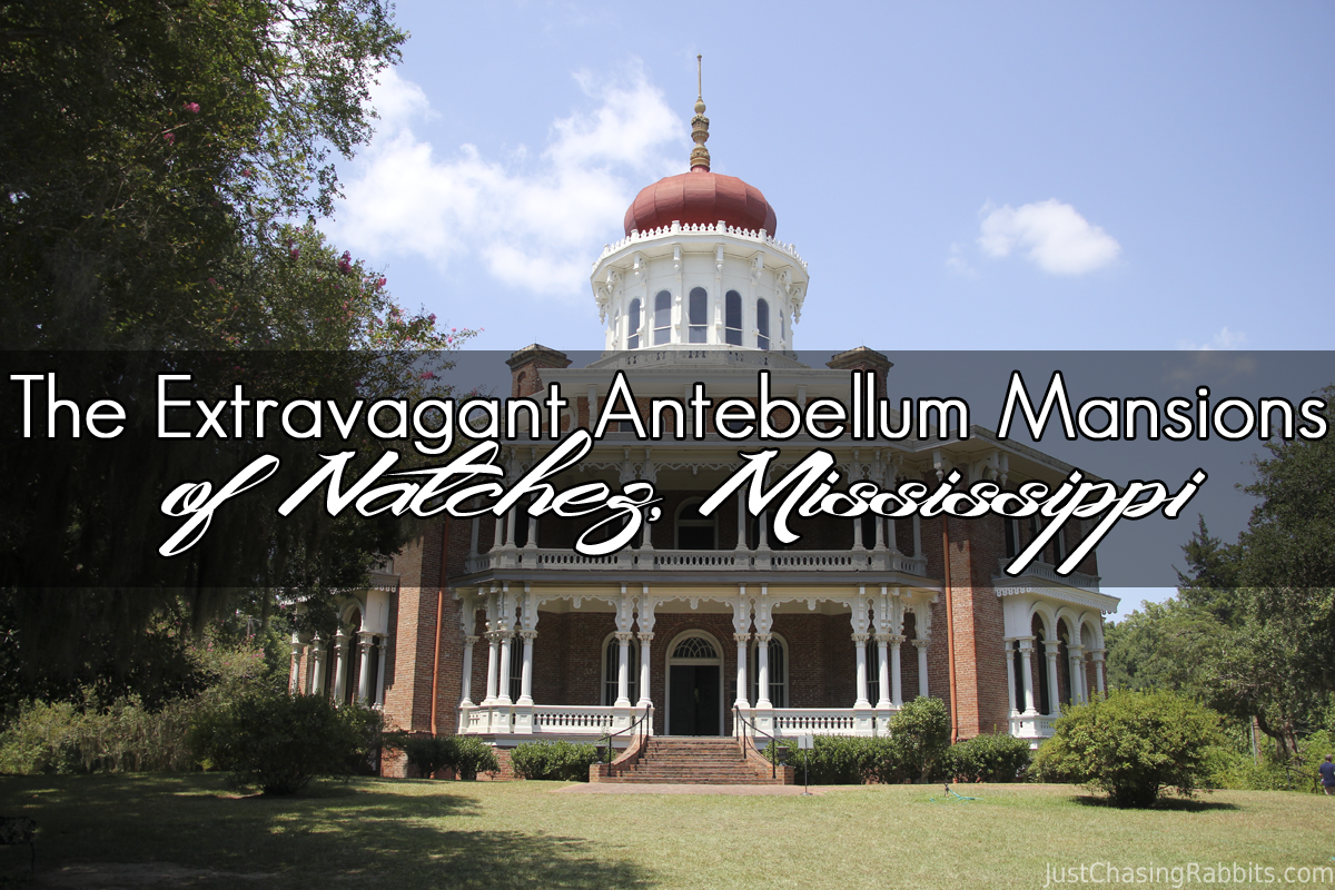 The Extravagant Antebellum Mansions Of Natchez