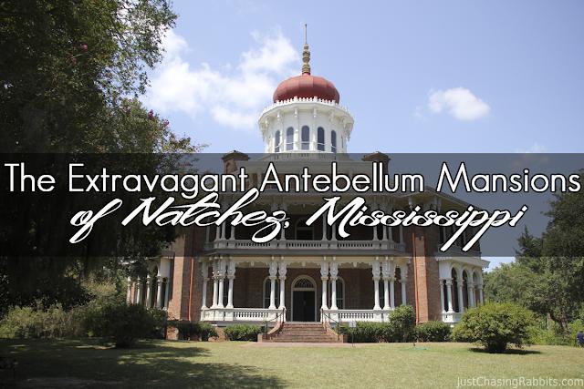 The Extravagant Antebellum Mansions of Natchez, Mississippi