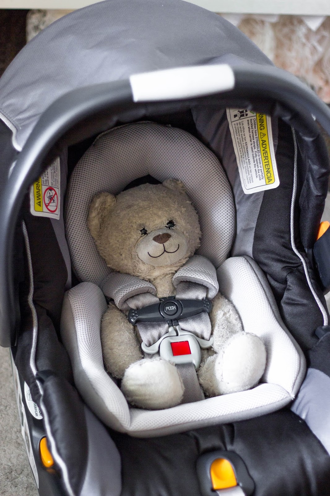 This Time Around We Decided That The Old Car Seat Was One Thing Not Worth Saving