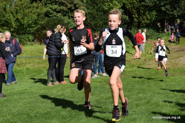 fell running English Schools fell race