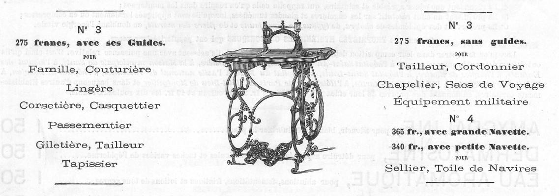 Le blog de callisto publicit pour les machines coudre for Machine a coudre kohler ancienne