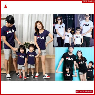 AKC076F207 Family Couple Baju Anak 076F207 Kaos Couple BMGShop