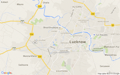 Lucknow City Map
