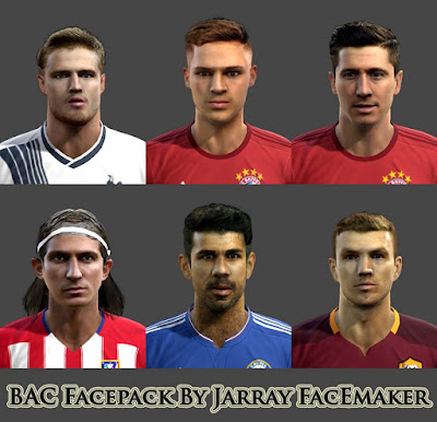 PES 2013 BAC Facepack By Jarray Facemaker
