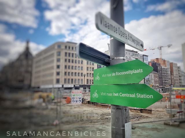 Salamanca en bici, salamancaenbici, señalización, señales ciclistas