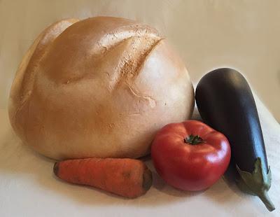 réplica alimentos, verduras y frutas a escala, alimentos decorativos, falsos alimentos decorar