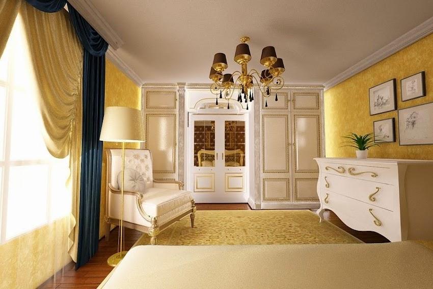 Design interior living vila clasica Galati - Amenajari interioare case Galati