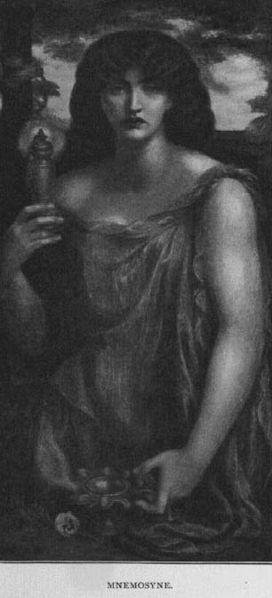 Mnemosine (Dante Gabriel Rosetti, 1828-1882)