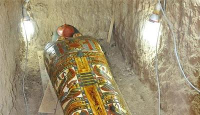 Mumi Mesir Kuno Ditemukan di Dekat Luxor