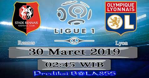 Prediksi Bola855 Rennes vs Lyon 30 Maret 2019