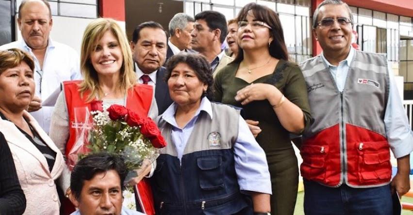 PRONIED: Premier Mercedes Aráoz inauguró Año Escolar 2018 en la región Arequipa - www.pronied.gob.pe