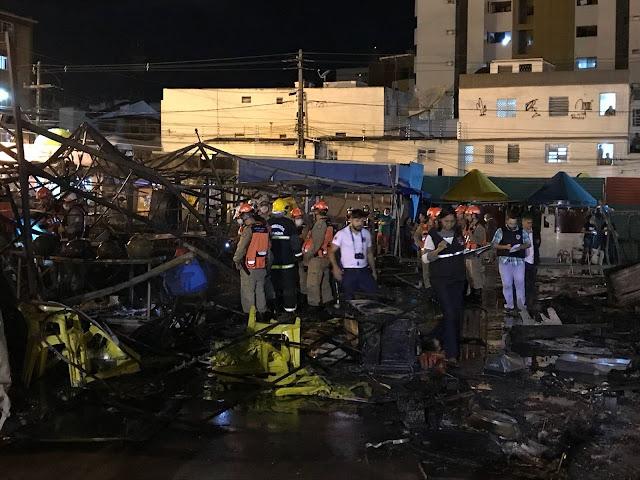Resultado de imagem para imagens Paraíba – Incêndio no Parque do Povo cancela shows em Campina Grande