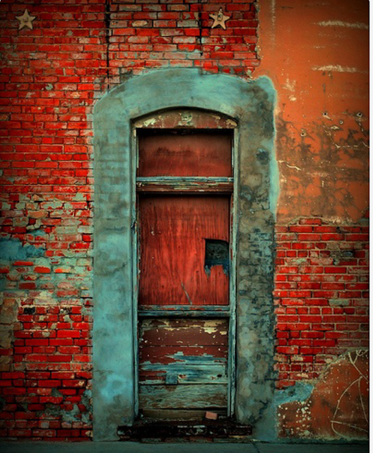 Doors...like eyes... are guardians of story.