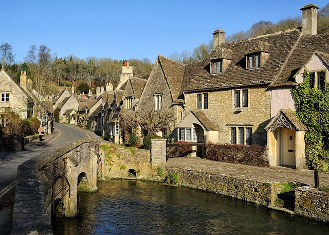 Picturesque Cotswold village of Castle Combe. Photo: WikiMedia.org.