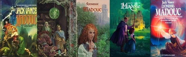 Jack Vance Madouc kiadások