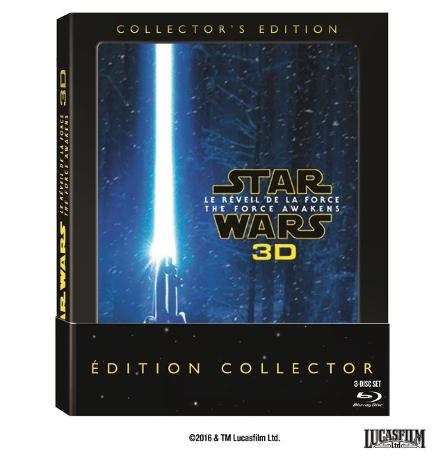 STAR WARS : LE REVEIL DE LA FORCE en édition collector 3D